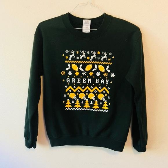 Gildan Tops Green Bay Packers Christmas Sweater Poshmark